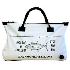 EatMyTackle Fish Cooler Bag: Insulated Leakproof Soft Collapsible Kill Bag