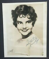 JEANIE LANG Autograph/Signed 8x10 Photo 'King of Jazz' Actress Freshman Love WOW