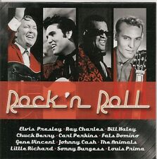 CD SINGLE PROMO 25 TITRES--ROCK 'N' ROLL--PRESLEY/HALEY/BERRY/PERKINS/ANIMALS