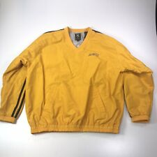 Arizona State ASU Sun Devils Yellow Pullover Windbreaker 90s Men's XL #868