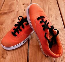 MENS WOMENS ORANGE HEELYS HEELIES HEELEYS LEGIT SKATE SHOES SIZE UK 5 EU 38