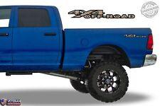 4x4 Off Road Desert Camo Bedside Decals Fits Dodge Ram 2002-09 1500 2500 3500