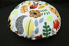 LF816n White Yellow Red Black Cotton Canvas Round Pillow Case/Cushion Cover