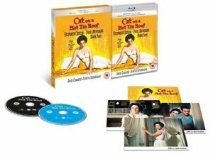 Blu Ray and DVD  CAT ON A HOT TIN ROOF. Premium collection. New sealed.