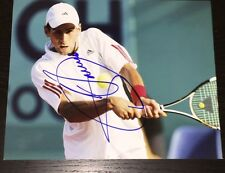 NOVAK DJOKOVIC SIGNED AUTOGRAPH TENNIS NUMBER ONE ACTION SHOT NEW 8x10 PHOTO COA
