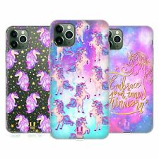 HEAD CASE DESIGNS UNICORNS AND GALAXY SOFT GEL CASE FOR APPLE iPHONE PHONES