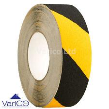 48mm X 5M Anti Slip Tape Black / Yellow High Grip Non-Slip Tape For Floors/Steps