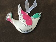 """You Are Special"" Ganz Bird Car Charm Rear View Mirror Ornament New"