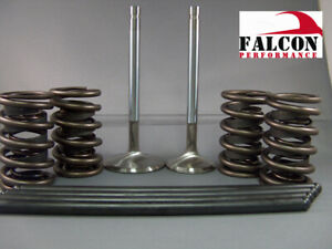 Willys Jeep OHV 134 F Cylinder Head Valvetrain Kit Springs+Valves+Guides