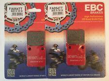 "Yamaha YFZ450 B / D (2013 to 2014) EBC ""TT"" FRONT Disc Brake Pads (FA54TT x 2)"