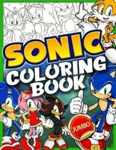 Sonic Colouring Book by Alfred Newton