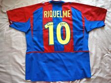 RARE MINT Barcelona #10 RIQUELME XL shirt jersey HOME camiseta 2002 2003 nike