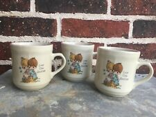 3 Precious Moments Love One Another May Our Home Be Blessed Coffee Mug Tea Cup