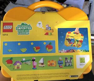 🔥LEGO Classic 10713 Kids Classic Creative Suitcase Building Kit - 213 Pieces