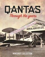 Minisheet Collection Australia 2020 QANTAS Centenary Limited Edition 150