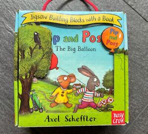 Pip and Posy Book and Blocks Set / Buch & Würfel Puzzle Ausgabe in Englisch *gut