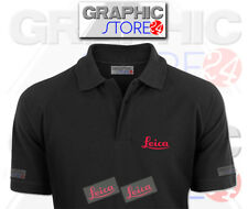 2x LEICA Iron on Clothing Decals