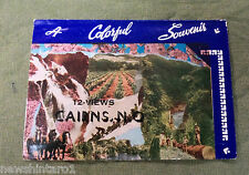 #D133. 1950s  SOUVENIR VIEW  FOLDER - CAIRNS, NORTH QUEENSLAND