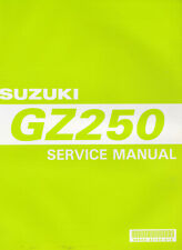 Suzuki GZ250 1998 Service Manual