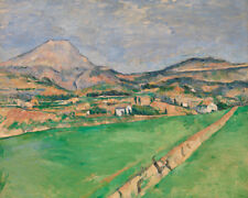 Toward Mont Sainte-Victoire by Paul Cézanne 60cm x 48cm Art Paper Print