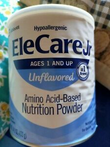 *NEW* Unopened Elecare jr unflavored 6 Cans Expires 10/21  expires in 1 month