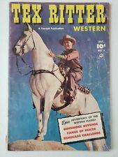 Tex Ritter Western (1951) #7  Comic book