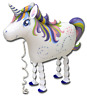 Unicorn Shaped Foil Balloon For Childrens Birthday, Party Decoration,Cute Gift