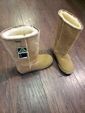 EMU Australia Platinum Stinger Hi Chestnut sheepskin Women's size 8 $179.95