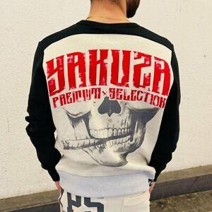 Yakuza Premium Sweatshirt Pulli Pullover Crewneck skull smoke