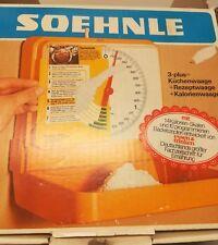 Soehnle Wandwaage Küchenwaage - Vintage - Retro 70er 80er grün