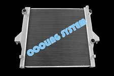 2 ROW ALUMINUM RADIATOR FIT 03-10 DODGE RAM 3500 5.9L 6.7L CUMMINS GREAT QUALITY