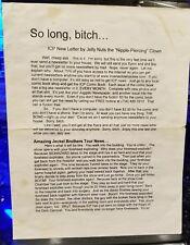 Insane Clown Posse - The Last Juggalo Newsletter psychopathic rydas twiztid icp