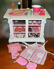 New ListingAmerican Girl Doll Sweet Treats Bakery Case Outfit + Accessories + Food Retired