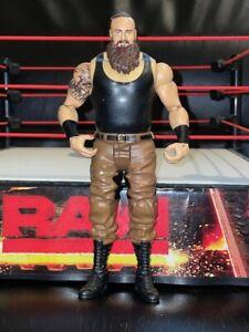 BRAUN STROWMAN WWE Mattel action figure BASIC MONSTER toy Wrestling Play Beast