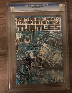 Teenage Mutant Ninja Turtles #3 1st Print CGC 8.5! Nice!