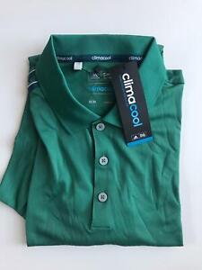 Adidas Climacool Golf Polo T-Shirt Gr. M Grün (AF0319)
