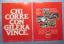 MOTOSPRINT988-PUBBLICITA'/ADVERTISING-1988- GILERA