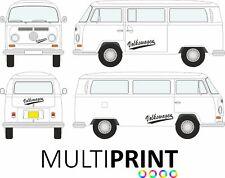 Retro VW Volkswagen Camper T4 T5 T6 Van Stripes Stickers Graphics Decals VW12