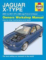 Jaguar X-Type Benzin+Diesel Reparaturanleitung workshop repair manual Buch book