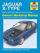 Jaguar X-Type (Benzin & Diesel) Reparaturanleitung workshop manual Buch book