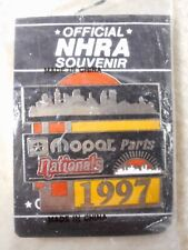 1997 MOPAR PARTS NATIONALS  NHRA DRAG RACING EVENT HAT PIN NEW / SEALED