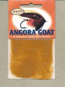 Angora Goat dubbing - ginger AG042