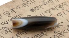 DZI LUMINEUX AGATE PERLE TIBETAINE-HIMALAYAN BEADS - 6971-D3
