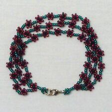 Mini Poppy 3 Strand Charity Bracelet