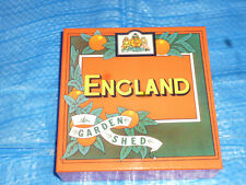 England Garden Shed Empty Promo Box Japan for Mini Lp Cd (Box Only)