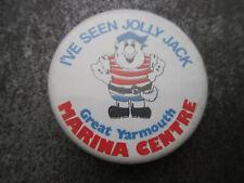 Great Yarmouth Marina Centre Pin Badge Button (L8B)