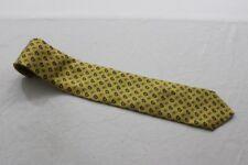 KR6600 Mc Neal  Krawatte  Blautöne, Gelb gemustert Sehr gut