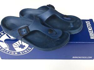 Birkenstock Gizeh kids sandals Flip Flops EVA Navy EU 31 / UK13 in original box