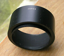 46mm screw in  metal  Lens Hood standard & telephoto ,used 55 x 25 japan