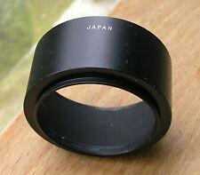 46mm screw in  metal  Lens Hood standard & telephoto ,used 55 x 25 japan